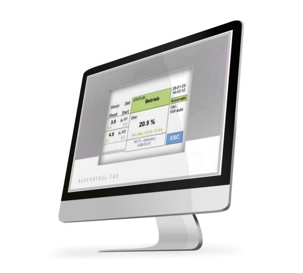 Software Gascontrol Webvisio